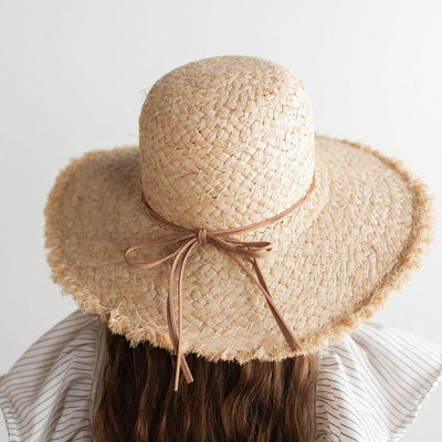 GIGI PIP Hats for Women- Addie Kids - Straw Floppy Hat-Straw Hats