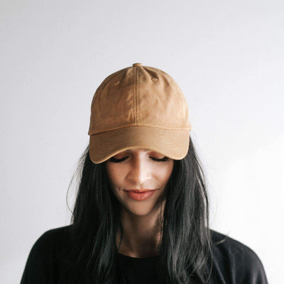 GIGI PIP Hats for Women- Amy Ballcap - Mustard-Baseball Hat