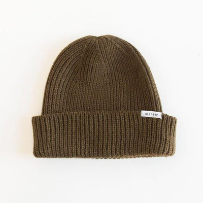 GIGI PIP Hats for Women- Ash Fisherman Beanie - Olive-Beanie