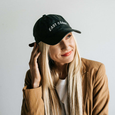 Dahlia Black - Women's Boater Hat