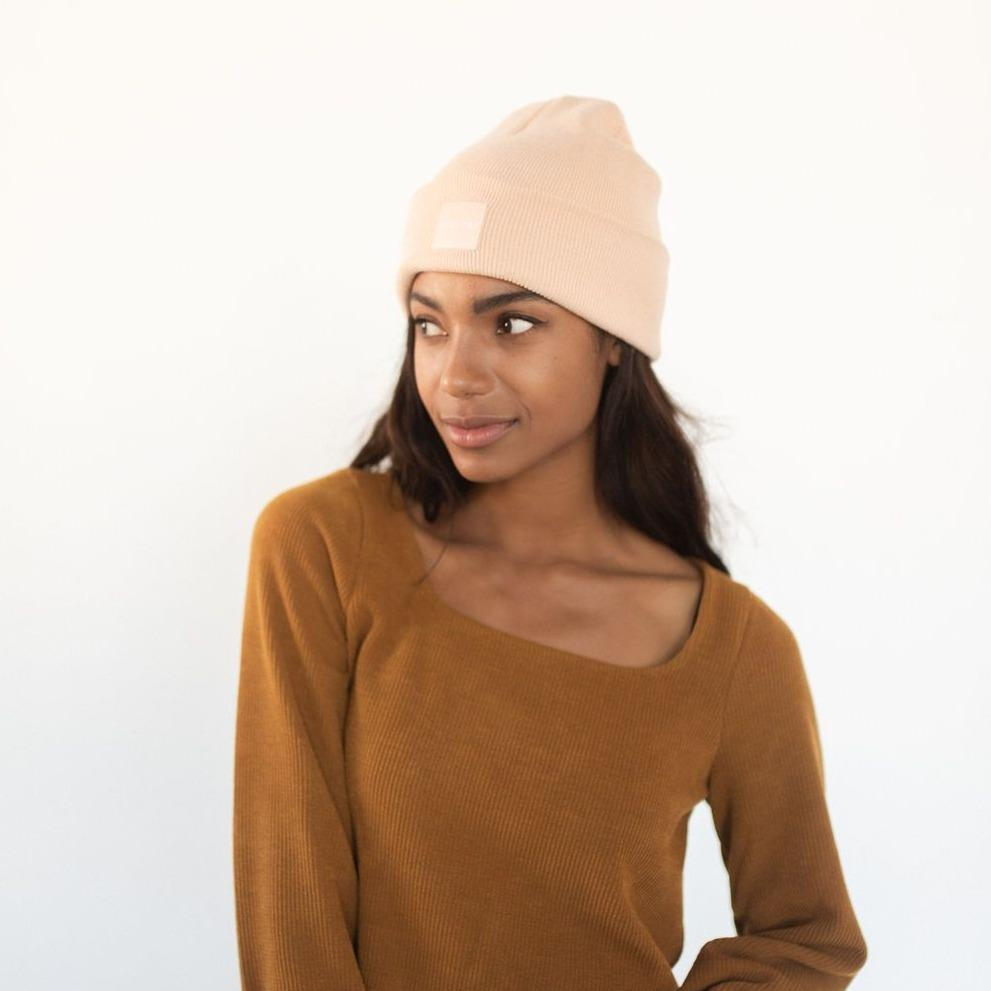 GIGI PIP Hats for Women- Gigi Beanie - Blush-Beanie