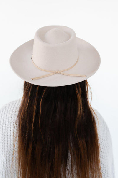 GIGI PIP Hats for Women- Grosgrain Band- Nude-Bands
