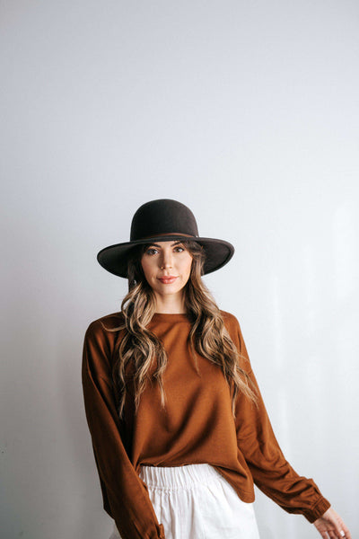 GIGI PIP Hats for Women- Hallie - Felt Hat-Felt Hats