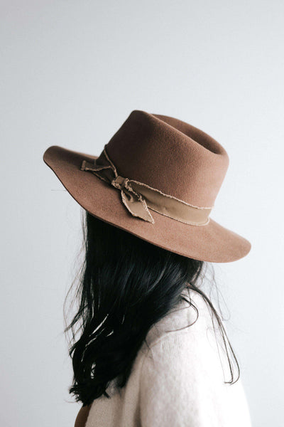 GIGI PIP Hats for Women- Hannah Brown - Floppy Fedora-Felt Hats