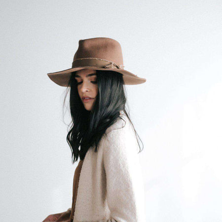 Billie Ivory - Tall Crown Fedora
