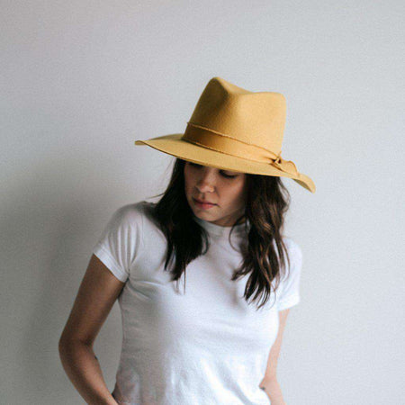 Leigh - Floppy Woven Straw Hat