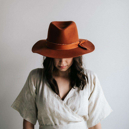 Dawn - Rafia Western Hat