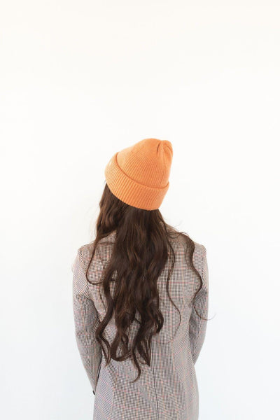 GIGI PIP Hats for Women- Ky Thick Knit Beanie - Clay-Beanie