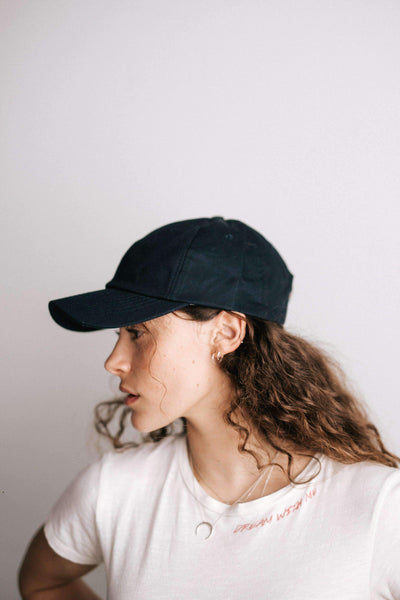 GIGI PIP Hats for Women- Laci Ballcap - Black-Baseball Hat