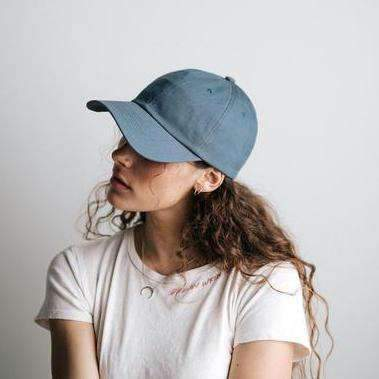 GIGI PIP Hats for Women- Laci Ballcap - Blue-Baseball Hat