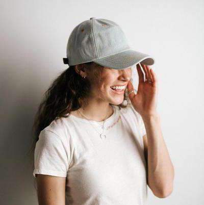 GIGI PIP Hats for Women- Laci Ballcap - Denim-Baseball Hat