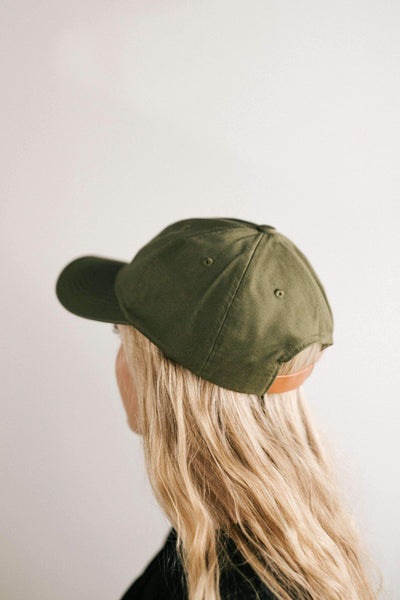 GIGI PIP Hats for Women- Laci Ballcap - Olive-Baseball Hat