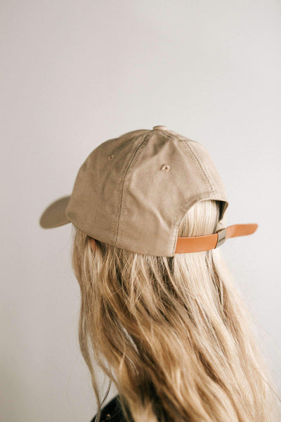 GIGI PIP Hats for Women- Laci Ballcap - Tan-Baseball Hat