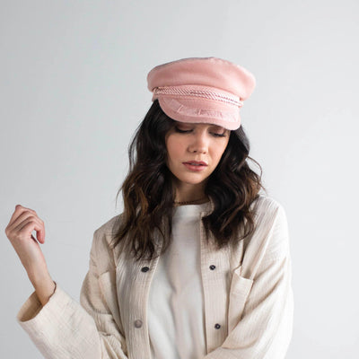 GIGI PIP Hats for Women- Lieutenant Cap - Blush-Women's Cap
