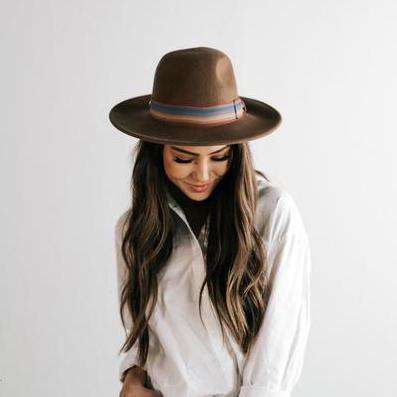 Finn - Wide Brim Straw Hat