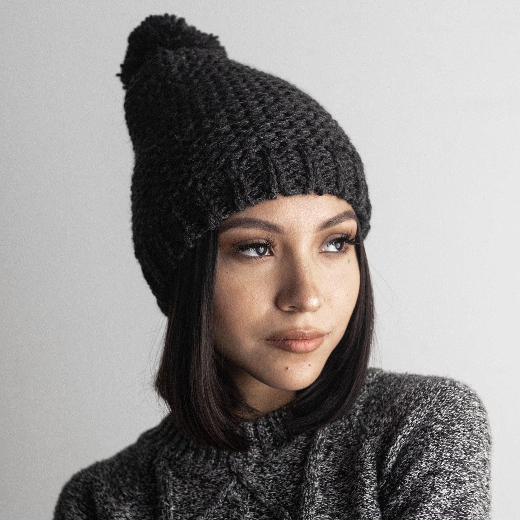 GIGI PIP Hats for Women- Mitzi Beanie - Charcoal-Beanie