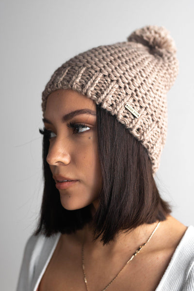 GIGI PIP Hats for Women- Mitzi Beanie - Stone-Beanie