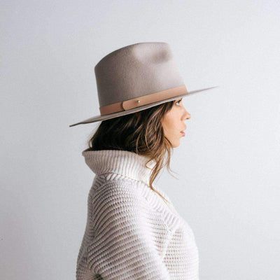 GIGI PIP Hats for Women- Removable Leather Band - Pin-Bands
