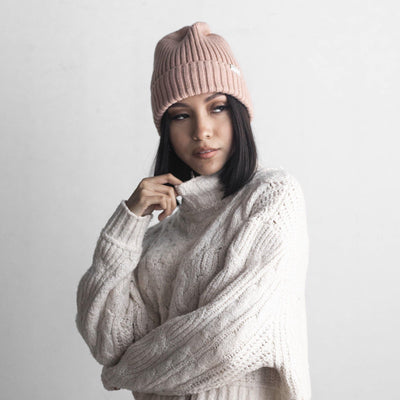 GIGI PIP Hats for Women- Romy Beanie - Blush-Beanie