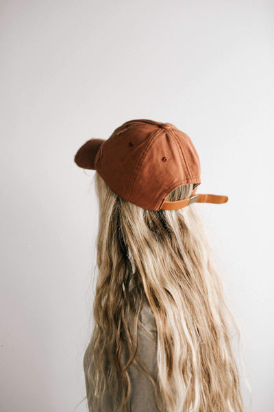 GIGI PIP Hats for Women- Roxy Ballcap - Cinnamon-Baseball Hat