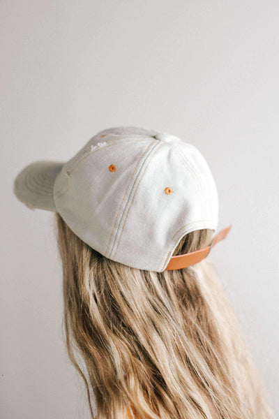 GIGI PIP Hats for Women- Roxy Ballcap - Denim-Baseball Hat