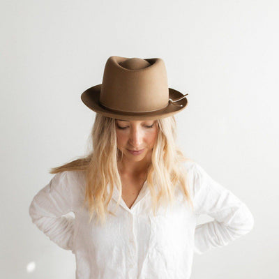 GIGI PIP Hats for Women- Ruth Trilby Hat-Felt Hats