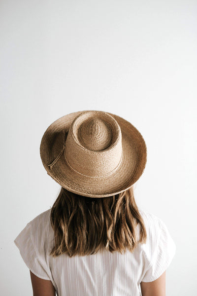 GIGI PIP Hats for Women- Sloan Straw Gambler-Straw Hats