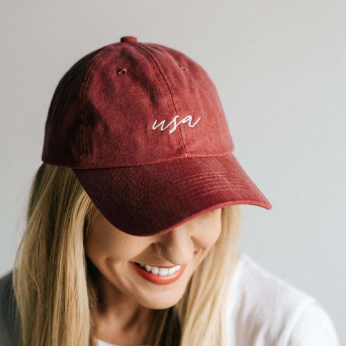 GIGI PIP Hats for Women- USA Embroidered Ballcap-Baseball Hat