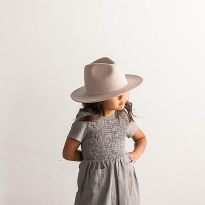 GIGI PIP Hats for Women- Wes Kids Fedora - Ivory-Felt Hats