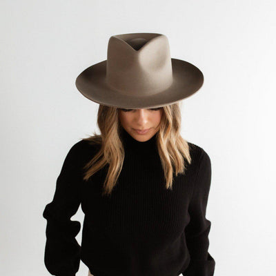 GIGI PIP Hats for Women- Zephyr Rancher - Sage-Felt Hats