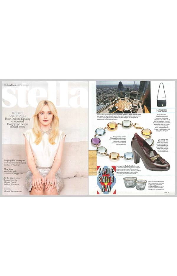 STELLA MAGAZINE: SEPTEMBER 9 2012