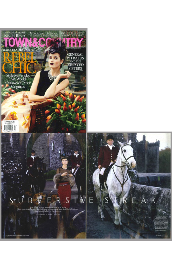 TOWN & COUNTRY – FEBRUARY 2013