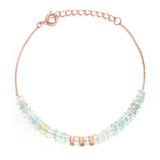 Indian Summer Aquamarine Bracelet