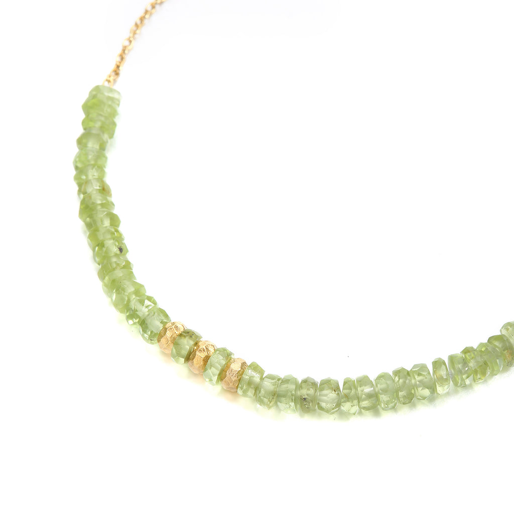 Indian Summer Peridot Bracelet