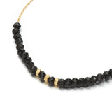 Indian Summer Black Spinel Bracelet