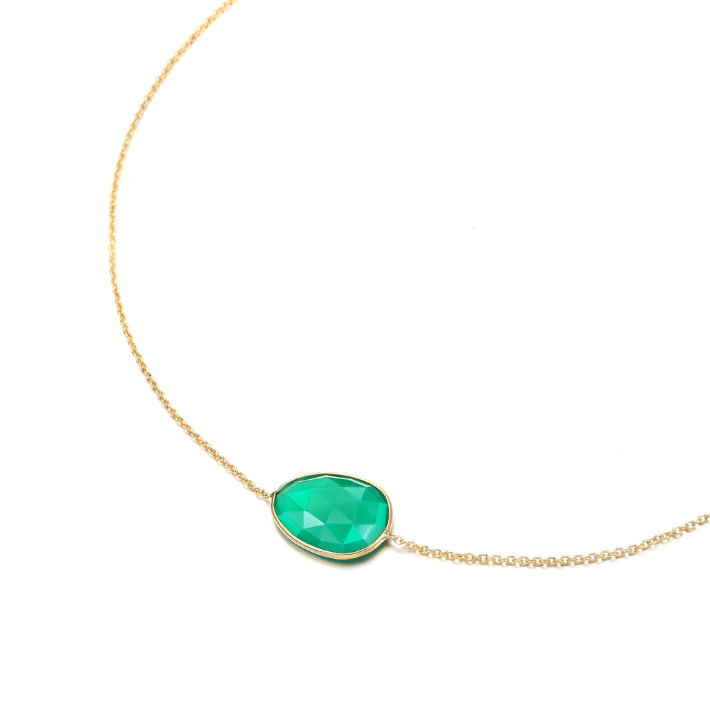Indian Summer Green Onyx Necklace