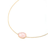 Indian Summer Rose Quartz Necklace