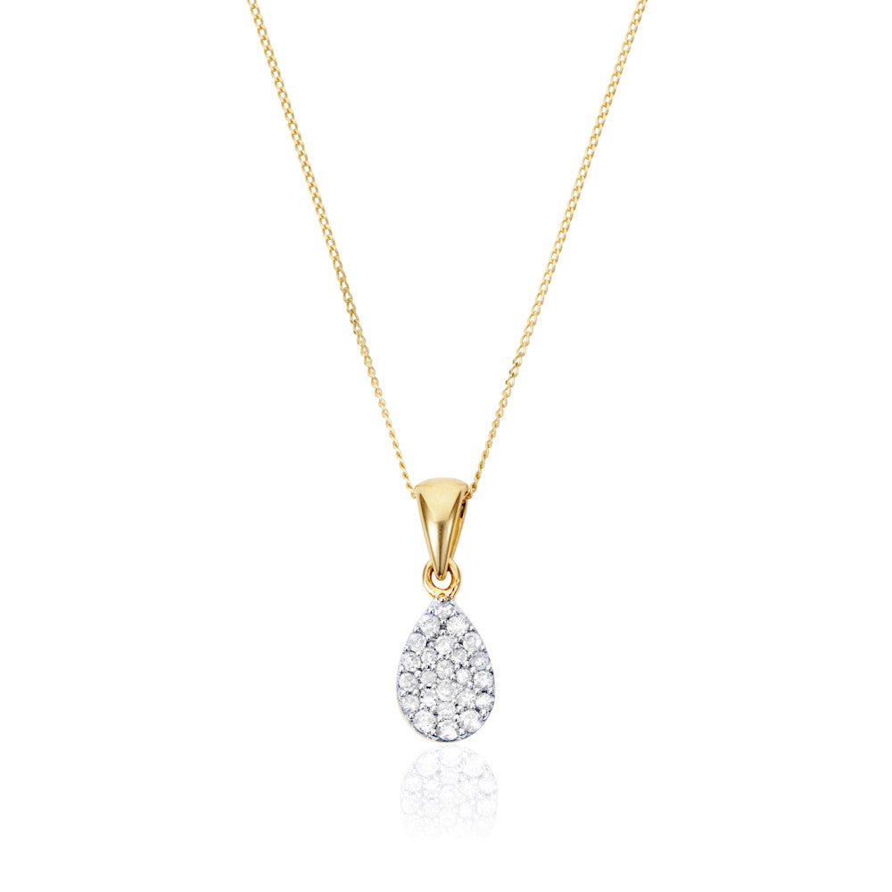 Enchanted Moment Diamond Petite Pear Pendant