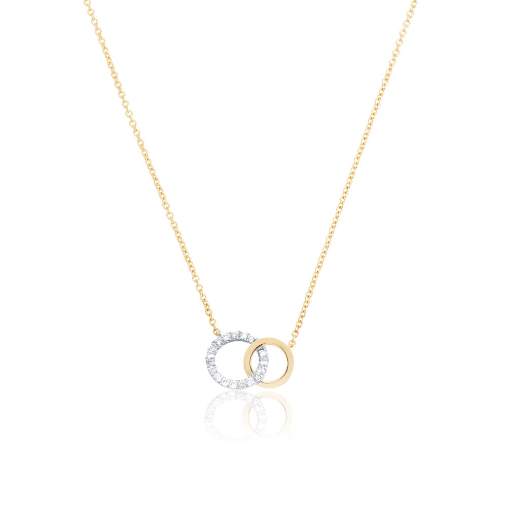 Enchanted Moment Diamond Double Linked Necklace