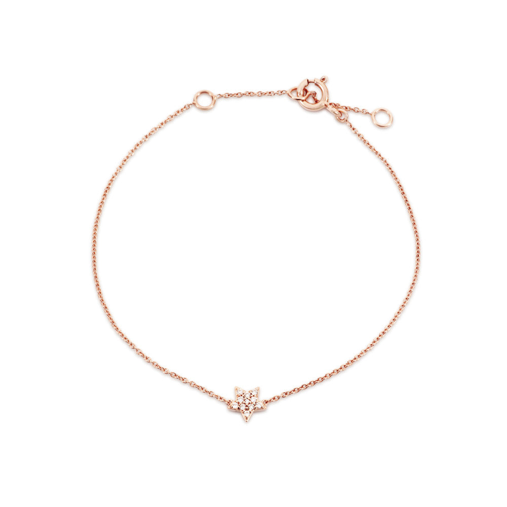 Enchanted Moment Diamond Star Bracelet