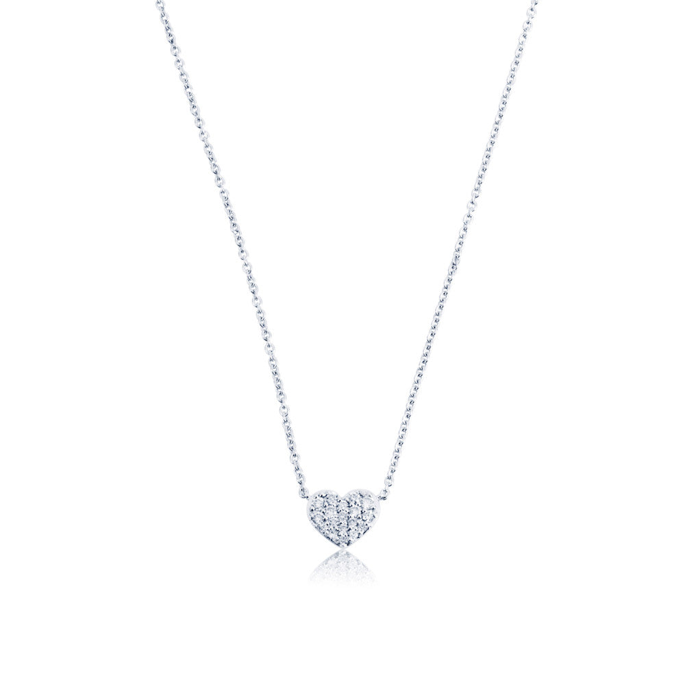 Enchanted Moment Diamond Heart Necklace