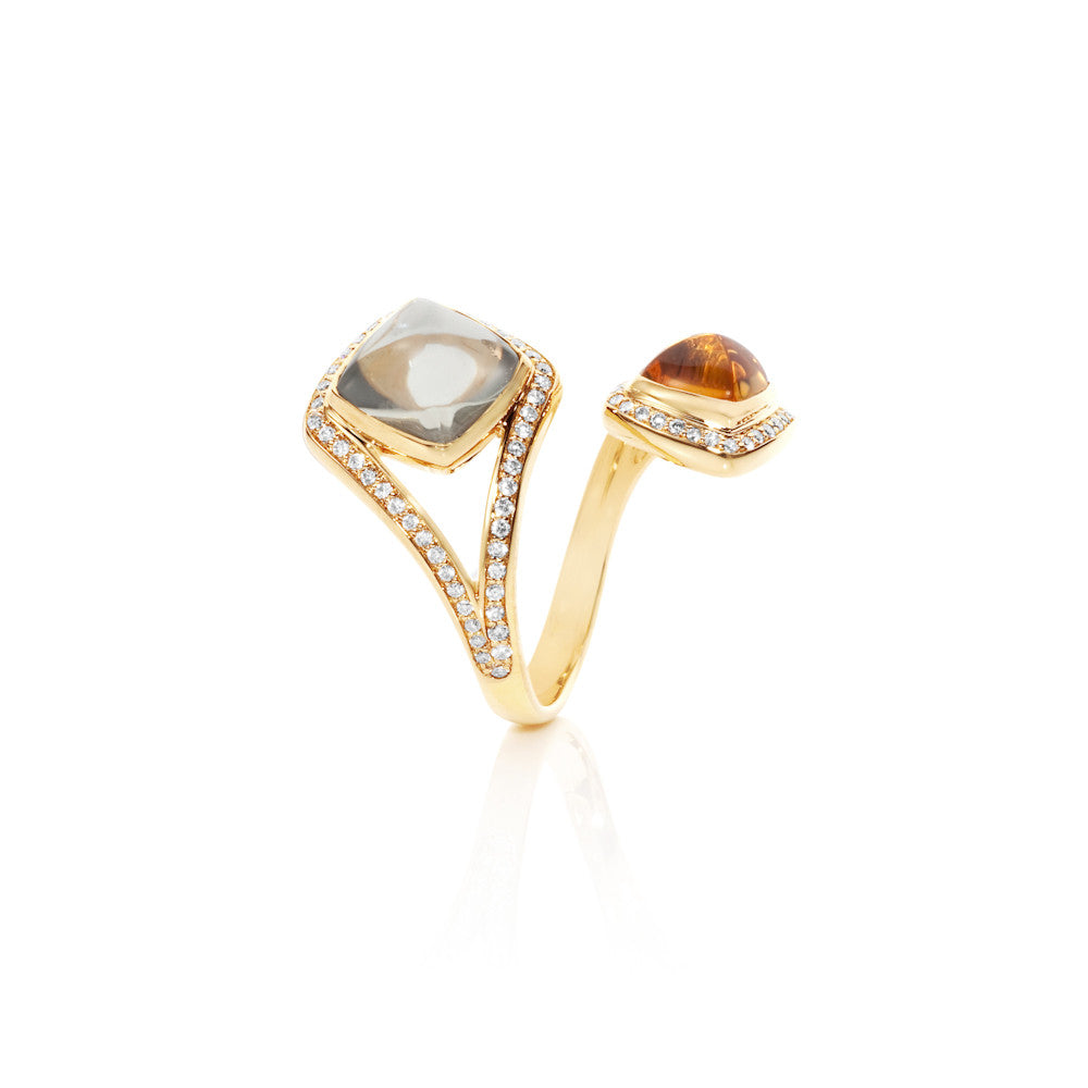 Firefly Evenings Multi Gem Diamond Ring
