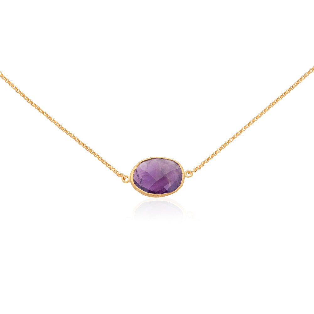 Indian Summer Amethyst Necklace