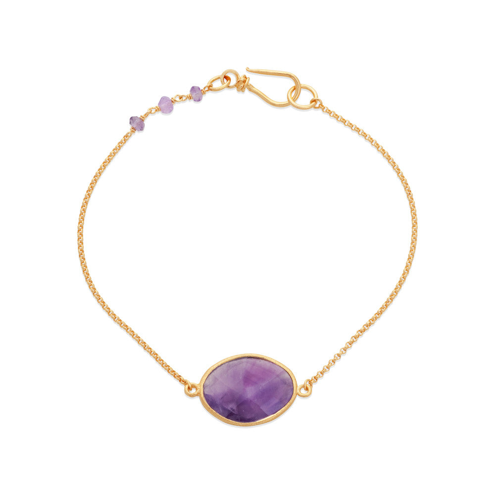 Indian Summer Amethyst Bracelet