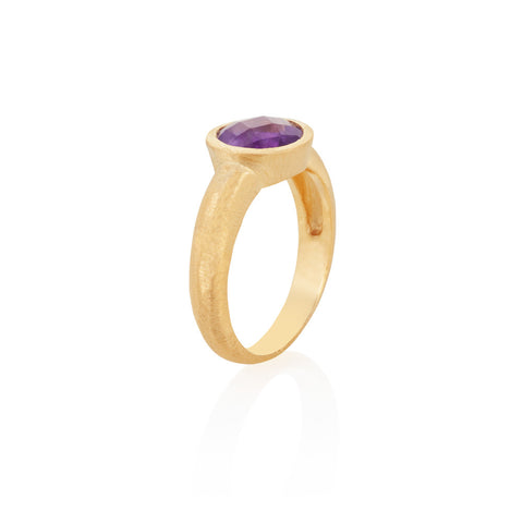 Indian Summer Amethyst Ring