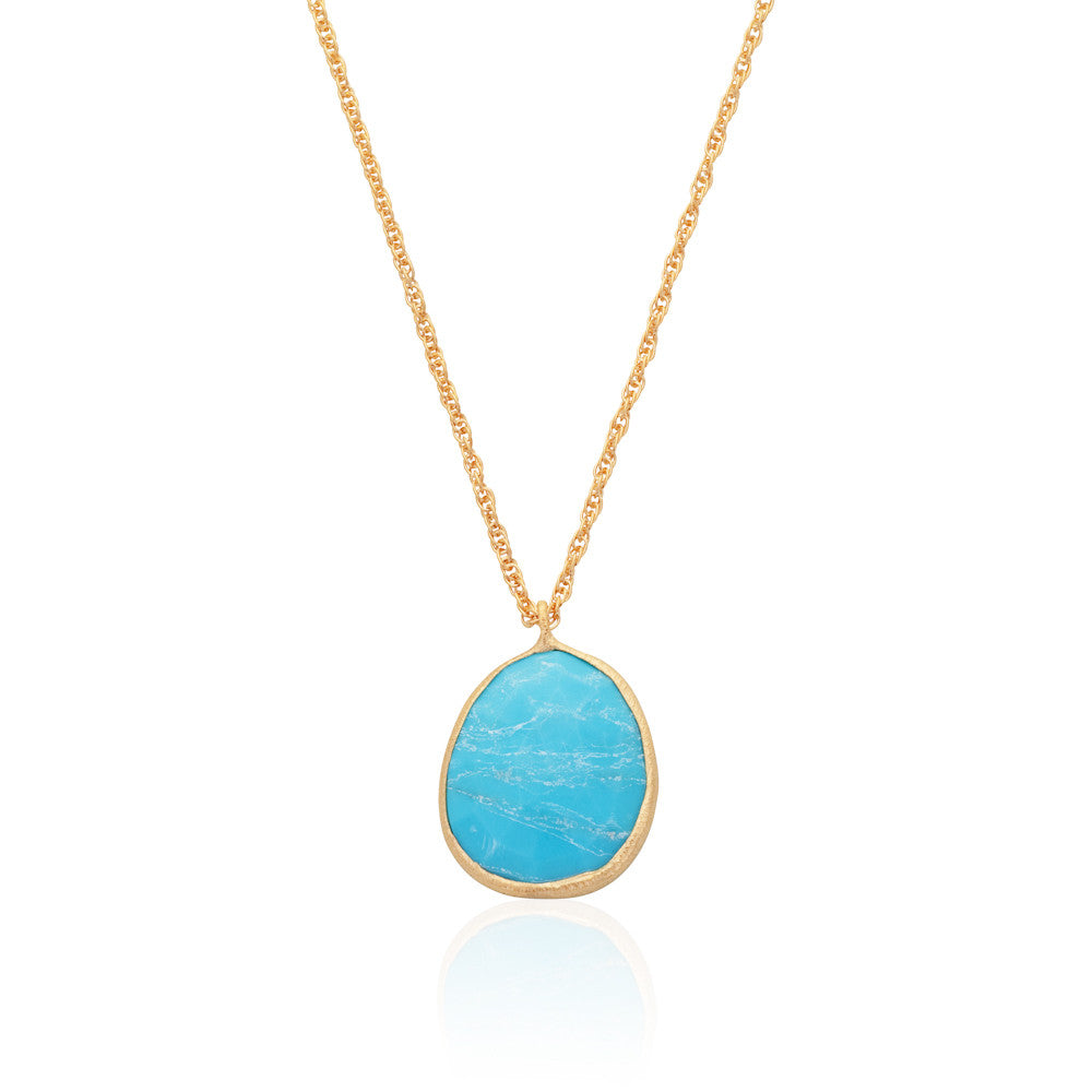 Indian Summer Turquoise Pendant