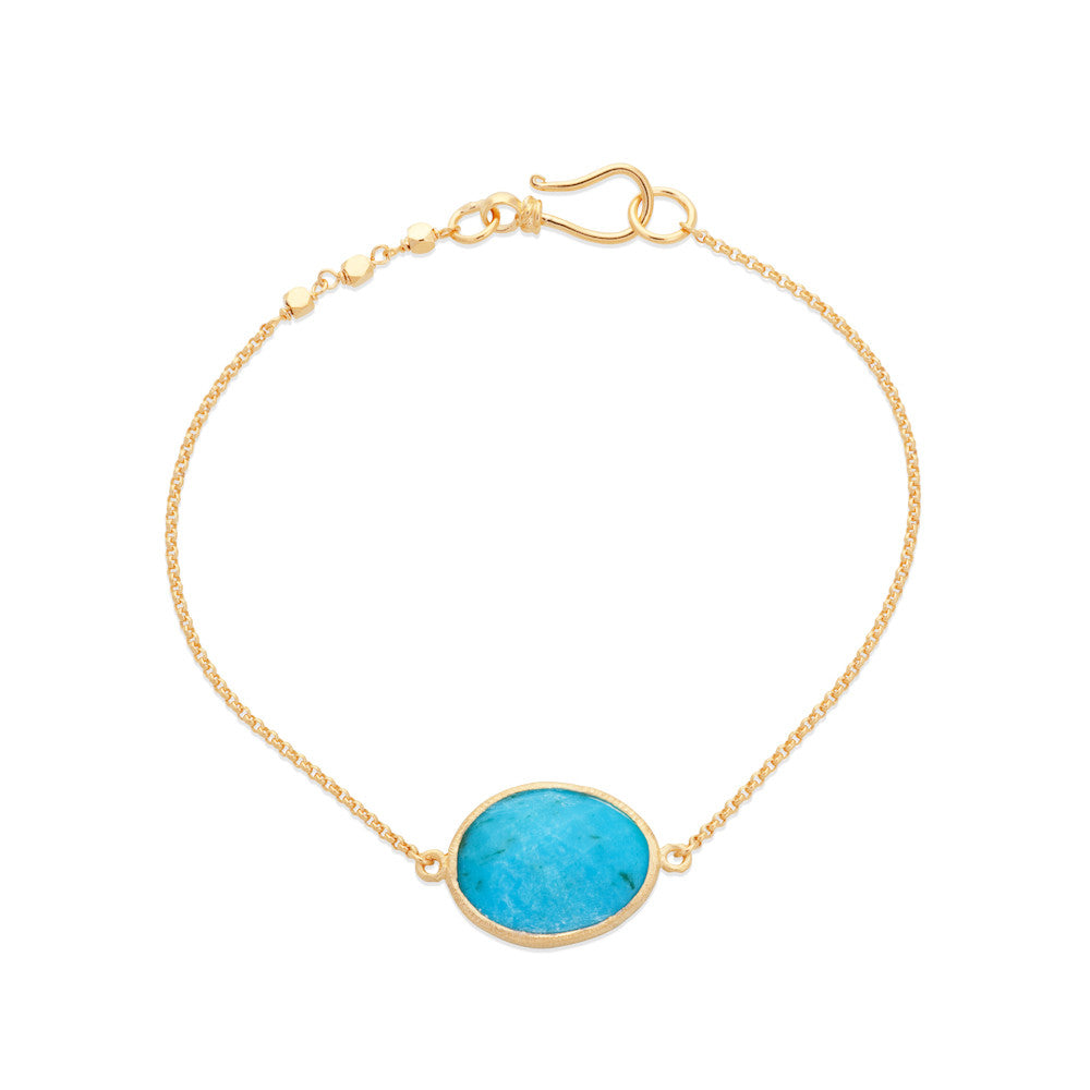 Indian Summer Turquoise Bracelet