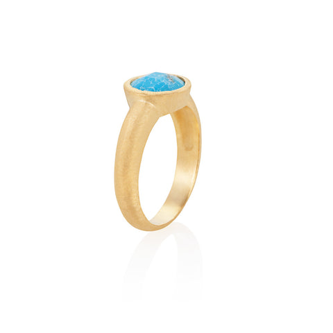 Indian Summer Turquoise Ring