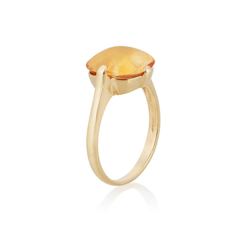 Mellow Sunshine Citrine Ring