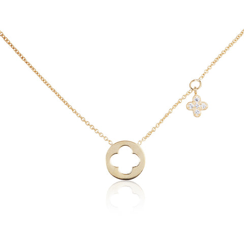 Enchanted Moment Infinity Emblem Necklace